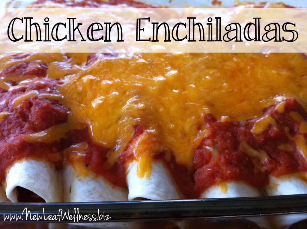 Chicken Enchiladas from @kellymcnelis