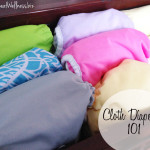 How to use cloth diapers – Happy Baby Company GIVEAWAY!