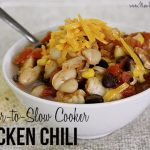 Freezer-to-slow cooker chicken chili