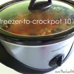 Freezer-to-crockpot 101