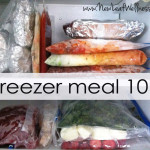 Homemade freezer meal 101