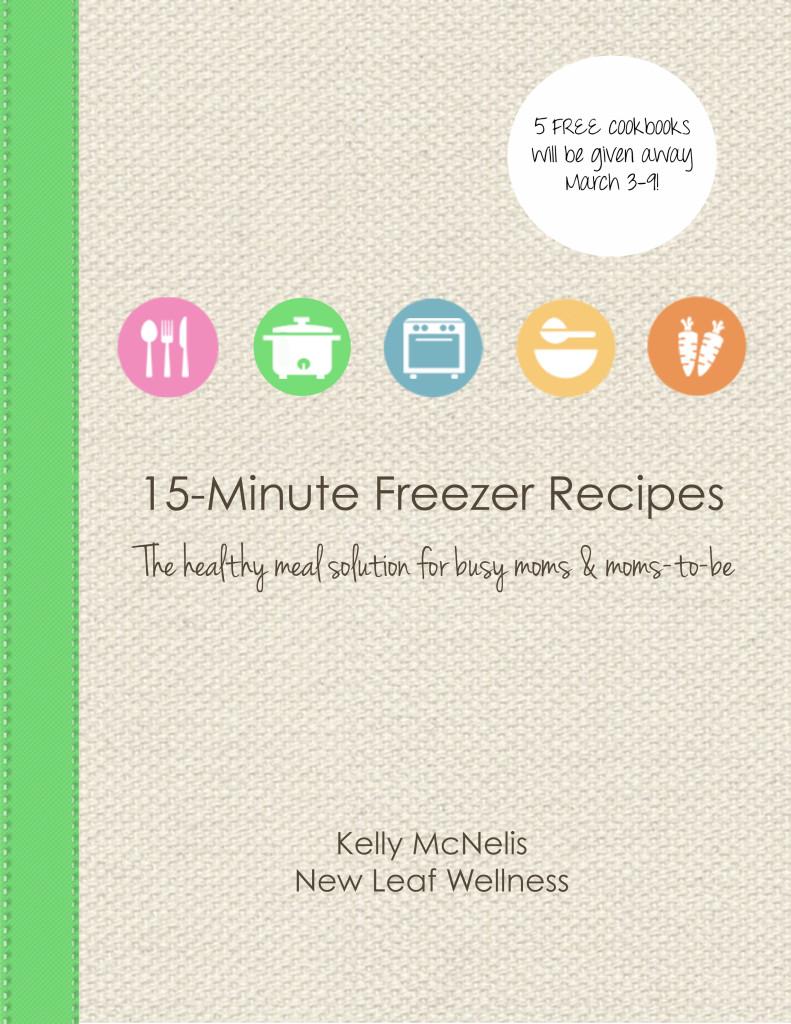 15-Minute Freezer Recipes Cookbook Giveaway
