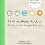Cookbook GIVEAWAY for national frozen food day