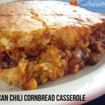 Mexican chili cornbread casserole recipe