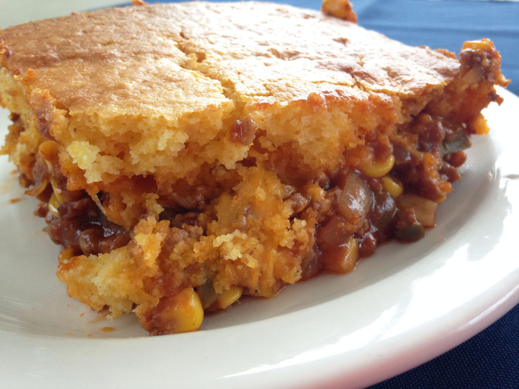 Mexican Chili Cornbread Casserole Recipe from @kellymcnelis