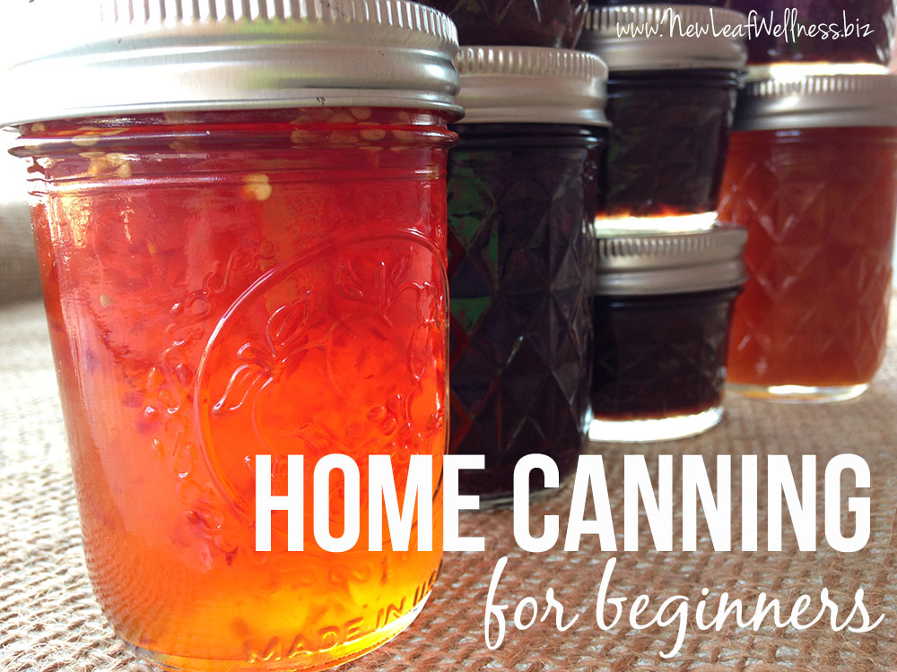 Home Canning for Beginners
