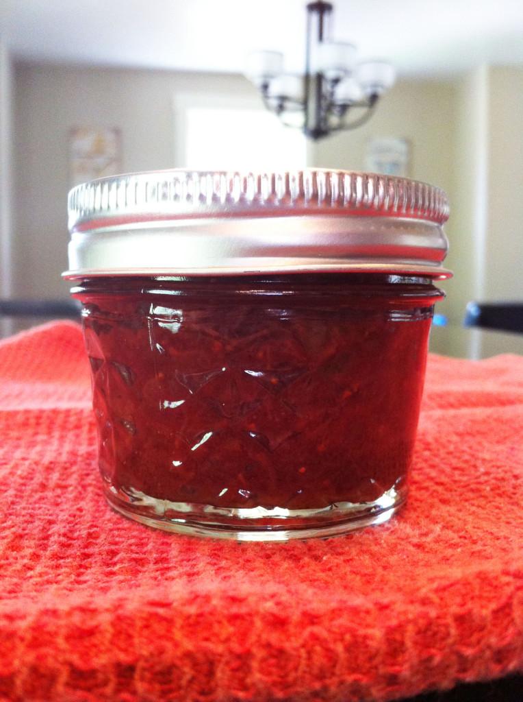 canning finished jar