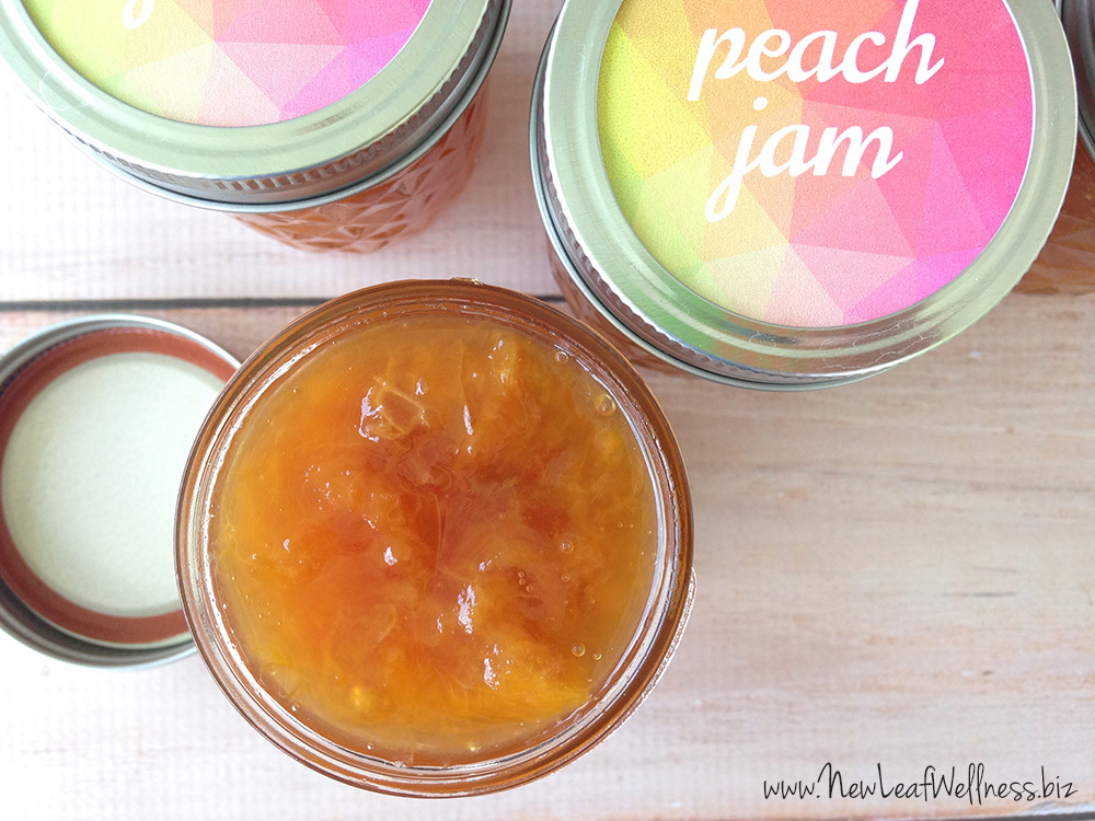 Slow Cooker Peach Jam