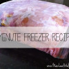 15-Minute Freezer Recipes - frozen meals