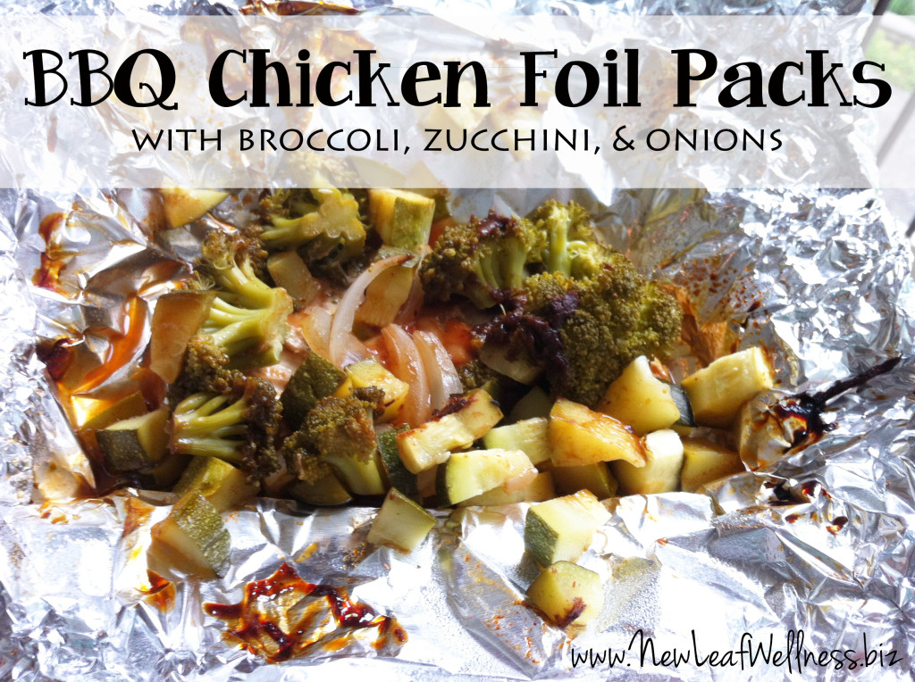 BBQ Chicken Foil Packs from @kellymcnelis