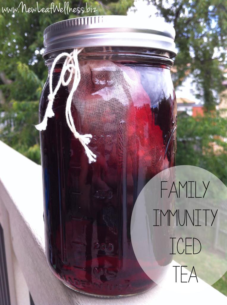 Birds & Bees Teas - Family Immunity Iced Tea