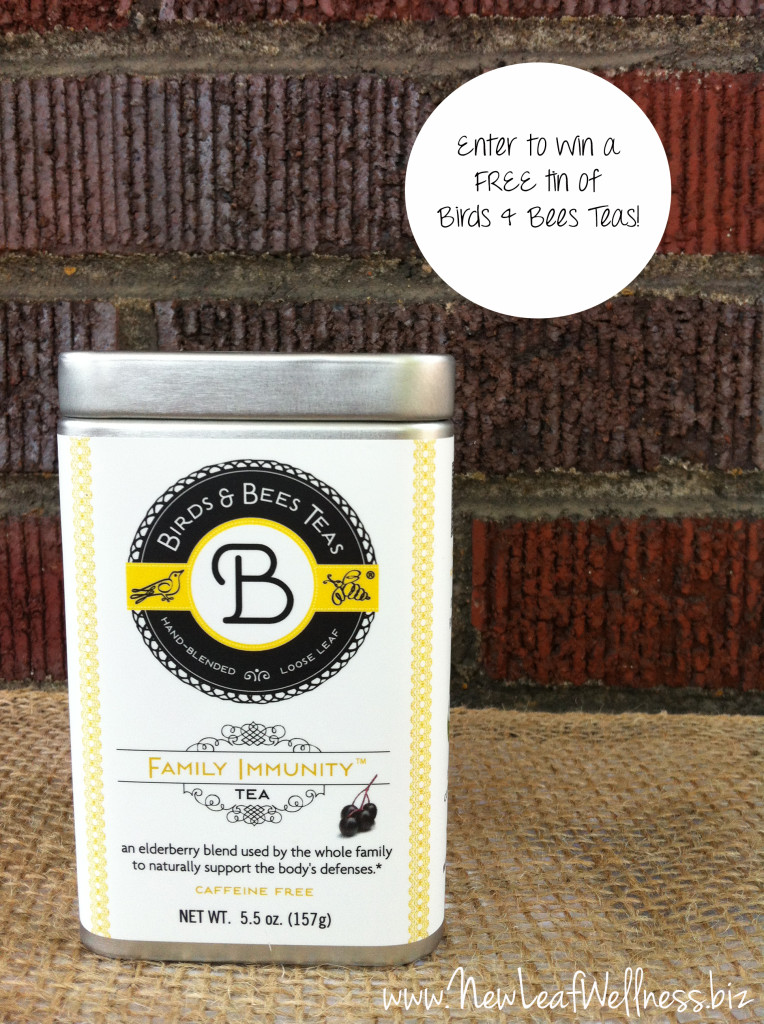 Birds and Bees Teas - giveaway