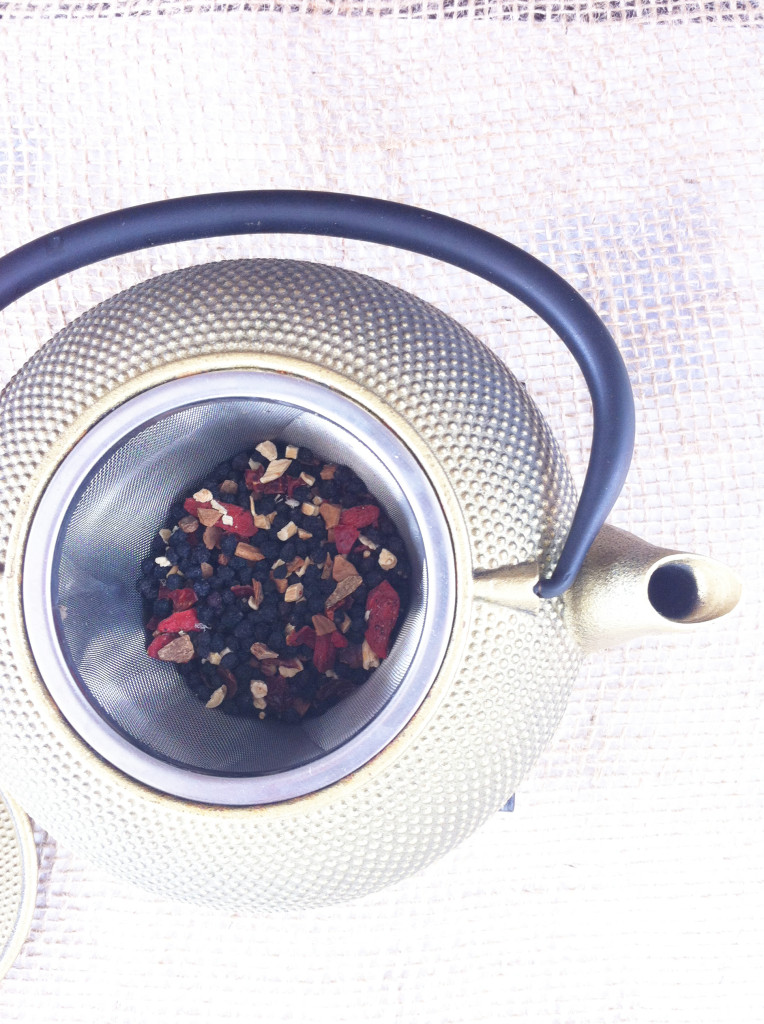 Birds & Bees Teas - tea in pot