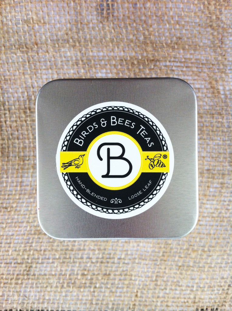 Birds & Bees Teas - tin top