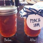 Fabric jar covers DIY
