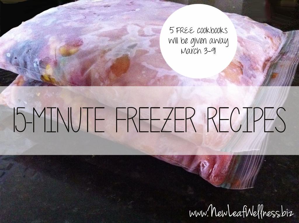 15-Minute Freezer Recipes Cookbook Giveaway