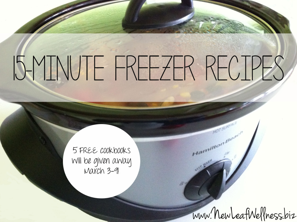 Freezer to Crockpot Cookbook Giveaway from @kellymcnelis