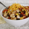 15-Minute Freezer Recipes: Freezer-to-slow cooker chicken chili from @kellymcnelis (1)