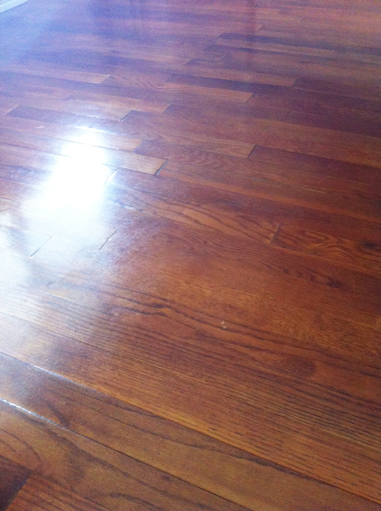 Homemade Cleaners and Lotions - hardwood floors