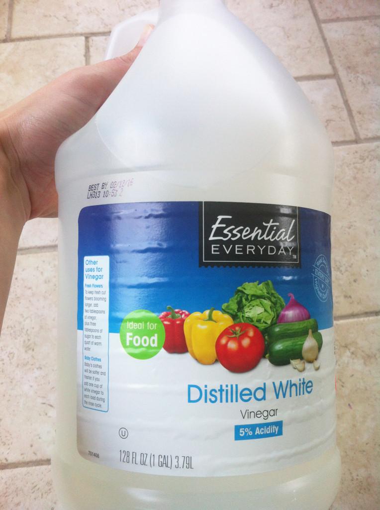 Homemade Cleaners - vinegar
