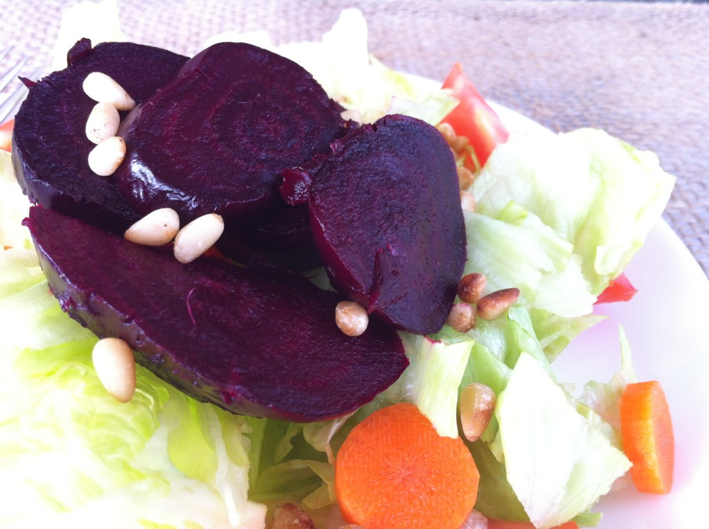 Recipe for roasted beets - salad