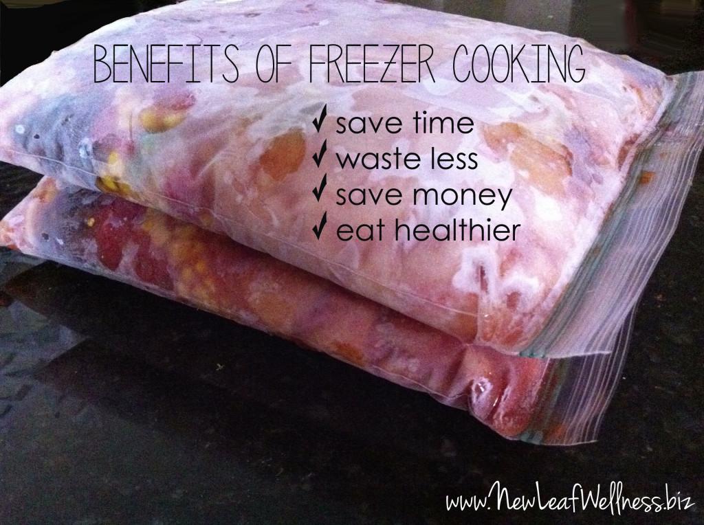 benefits of freezer cooking