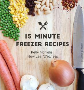 15 Minute Freezer Recipes Cookbook