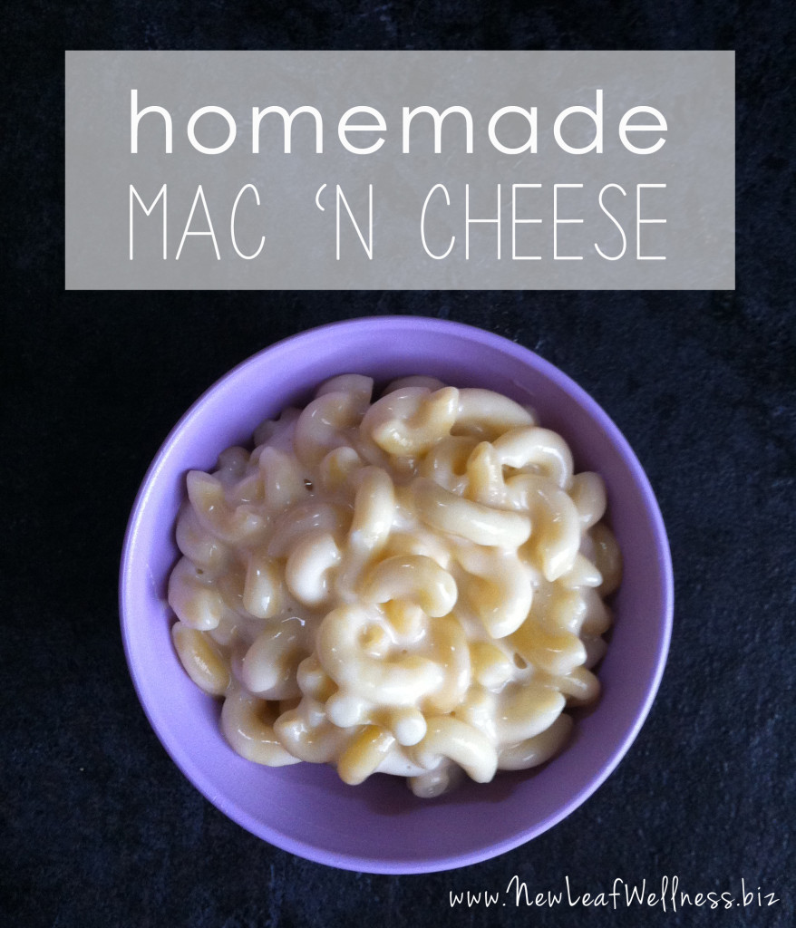 Homemade macaroni and cheese recipe | New Leaf Wellness