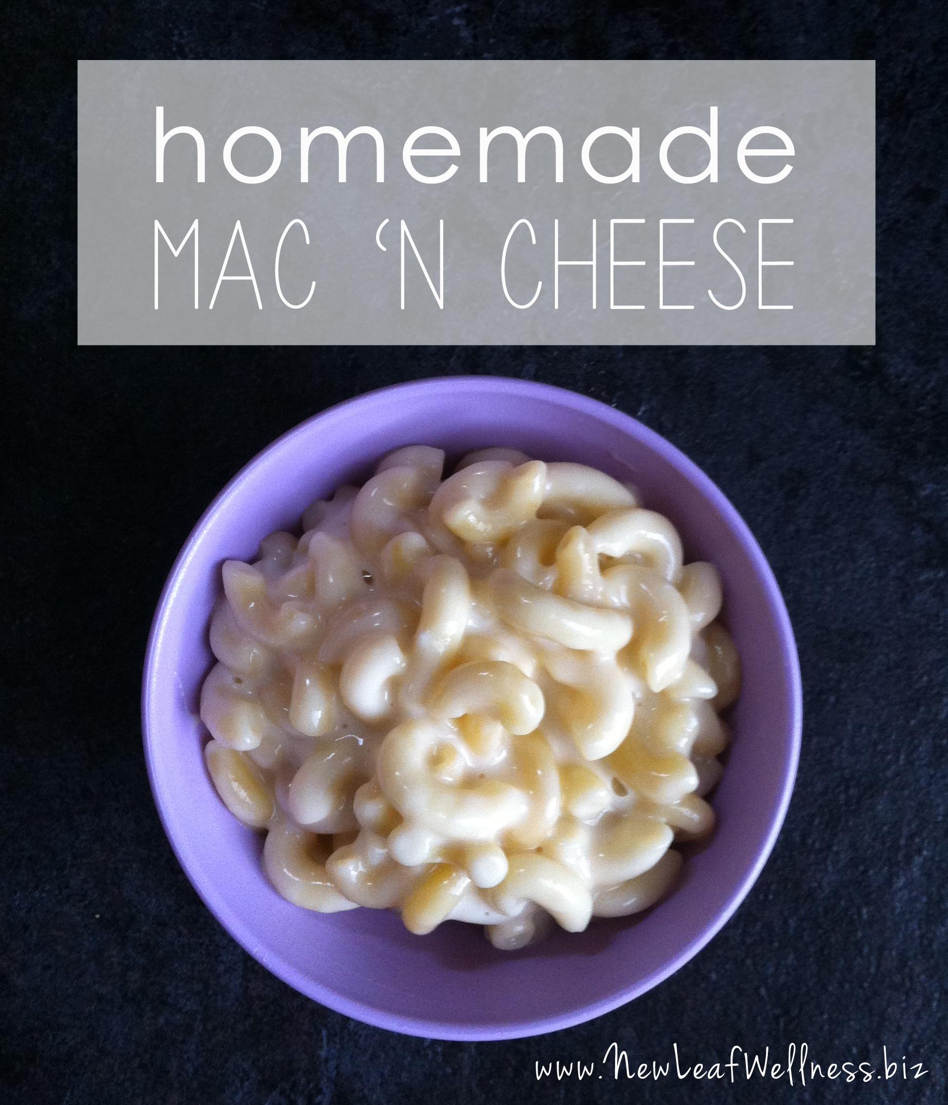 easy mac n cheese