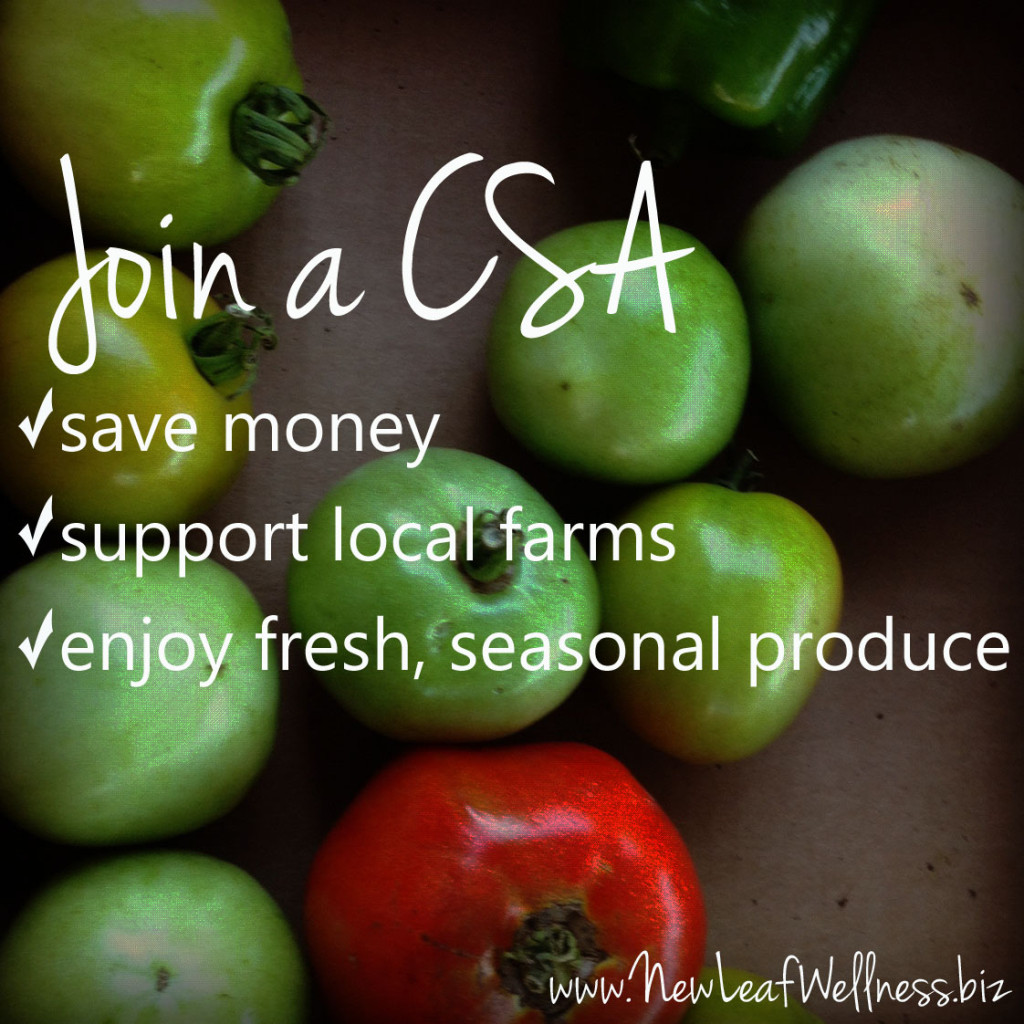 benefits of joining a CSA