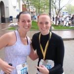 Training for a half marathon while pregnant