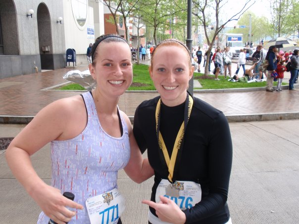 running a half marathon while pregnant race photo 09