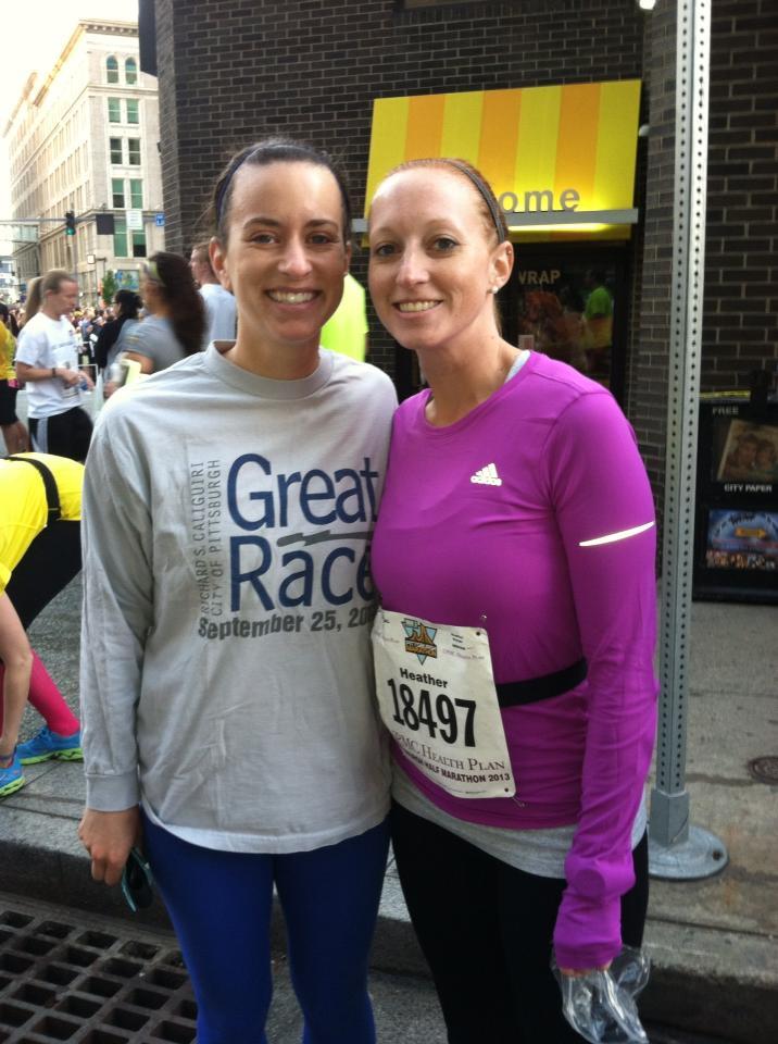 running a half marathon while pregnant race photo 13
