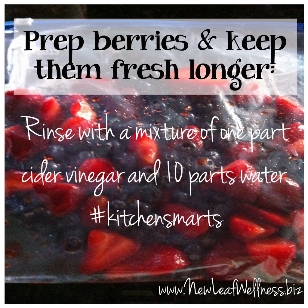 time saving kitchen tips keep berries fresh longer