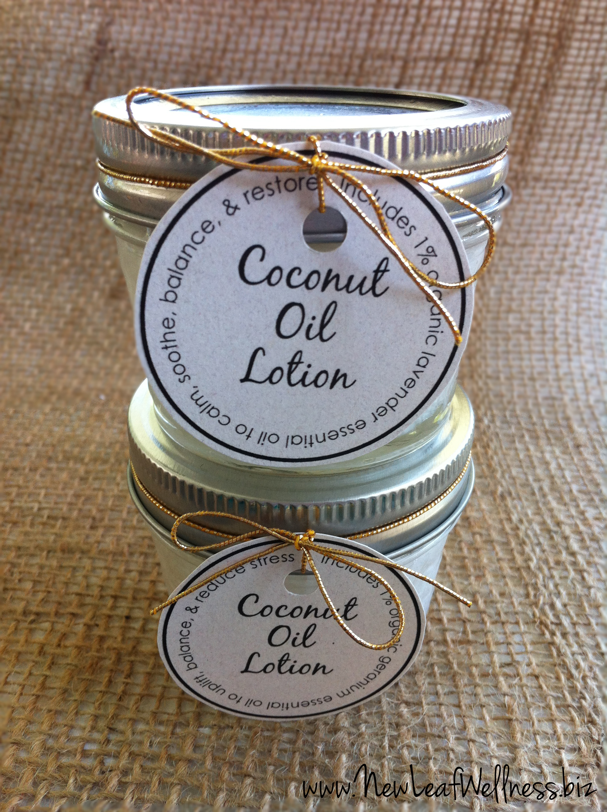 Homemade coconut oil lotion recipe new leaf wellness