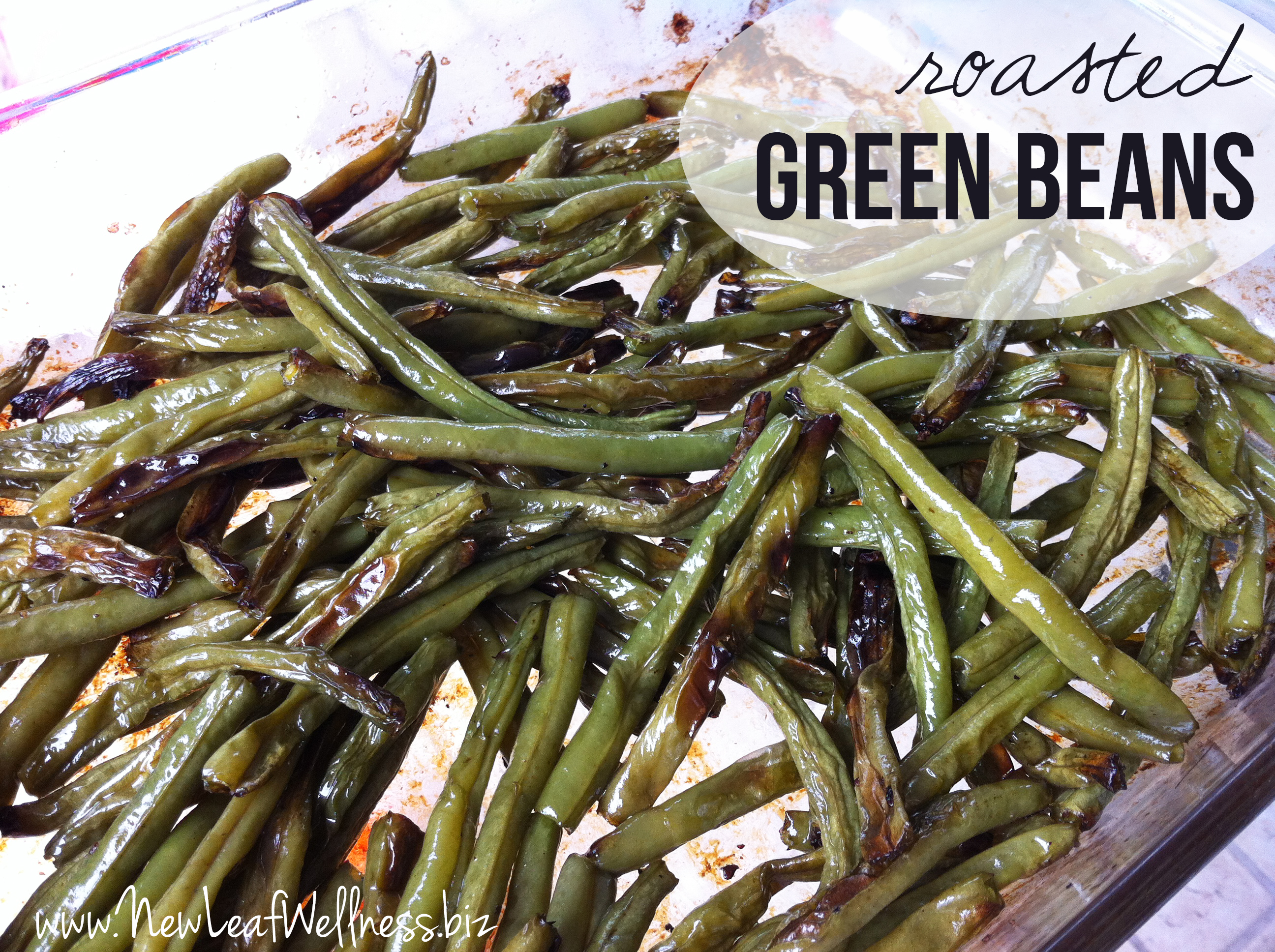 Recipe for Roasted Green Beans