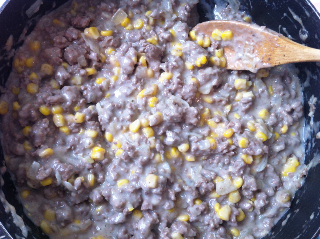 Shepherd's Pie Recipe - corn