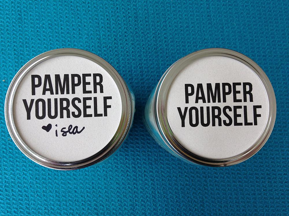Spa in a jar free printable