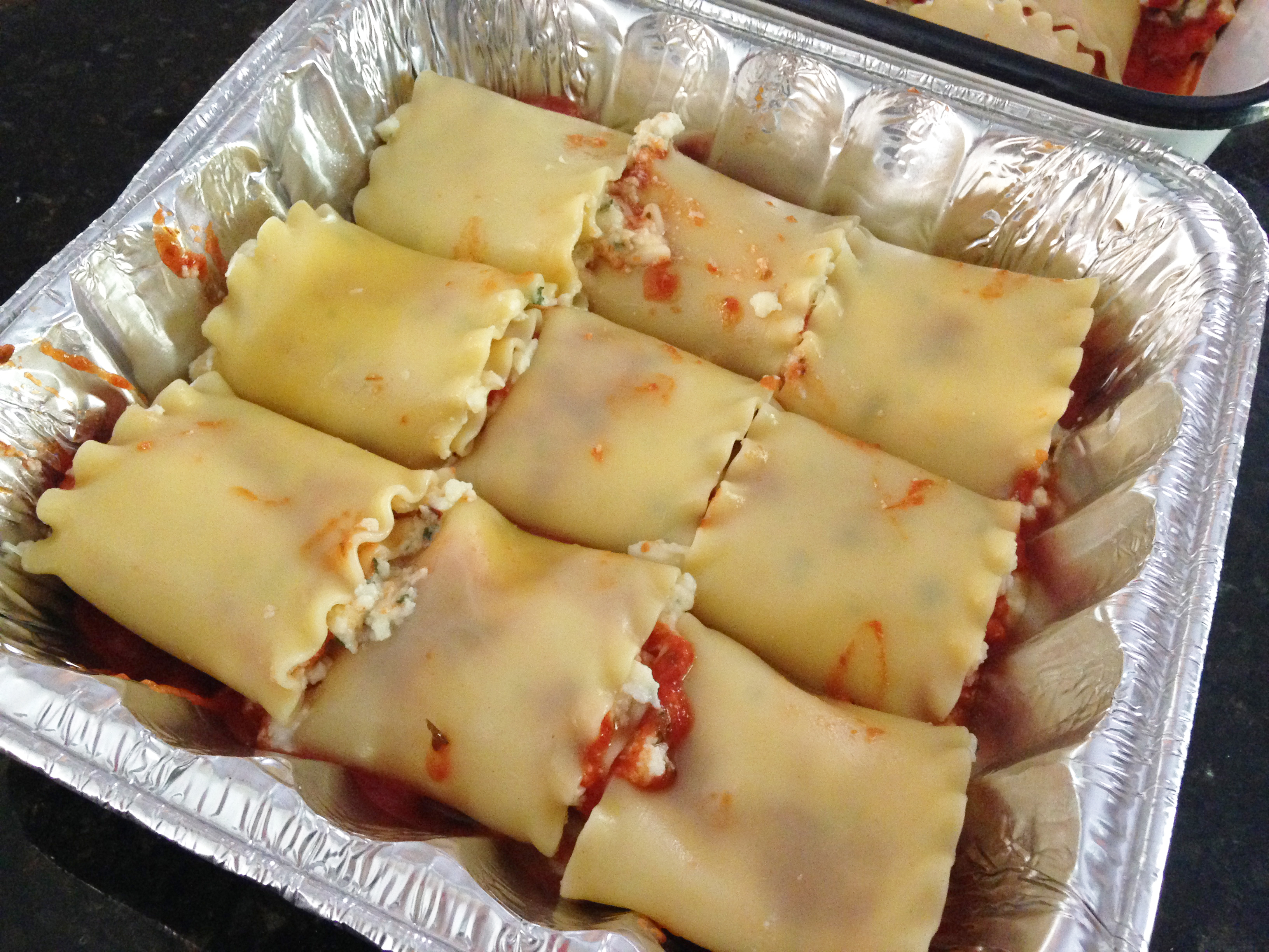 Freezer Friendly Lasagna Roll Up Recipe The Family Freezer