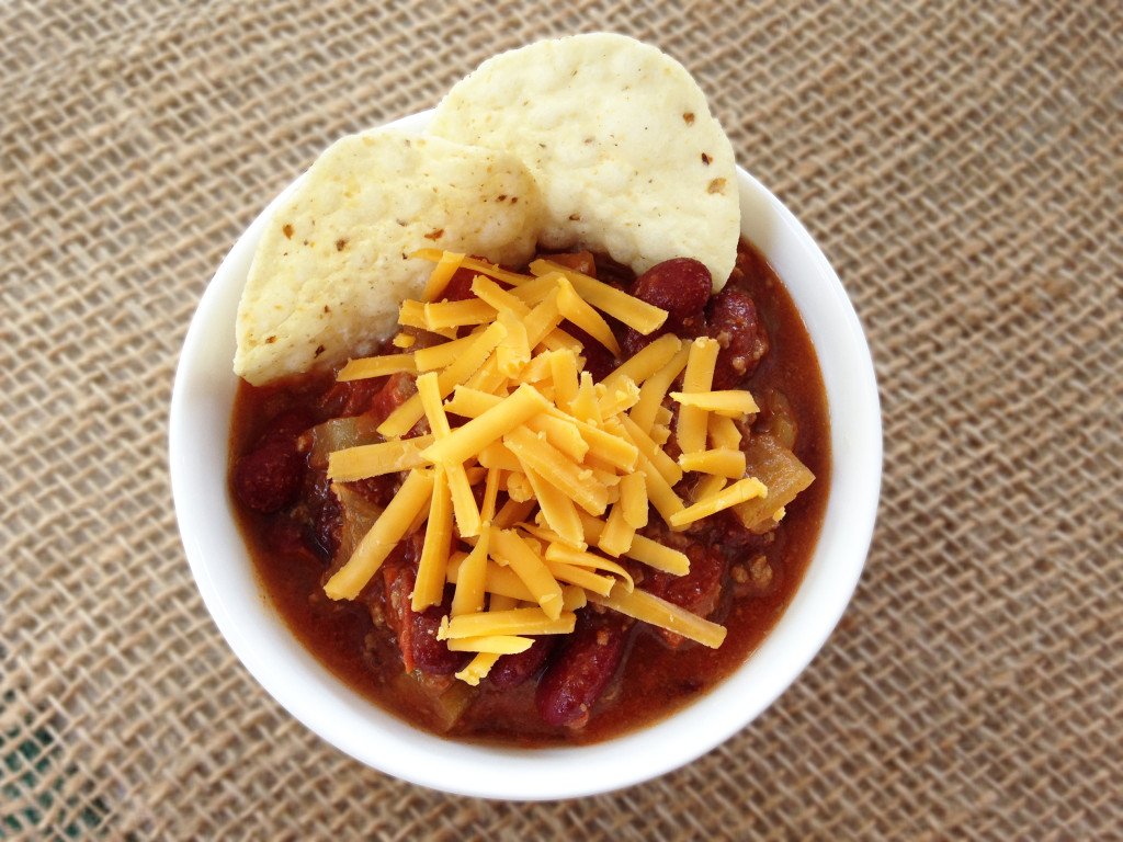 Slow Cooker Beef and Beer Chili from @kellymcnelis