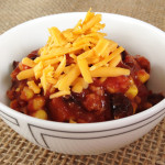 Slow cooker turkey and black bean chili recipe