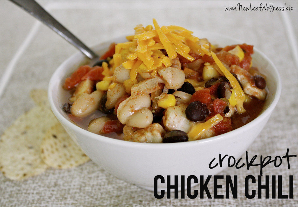 Crockpot Chili Recipes - Chicken Chili