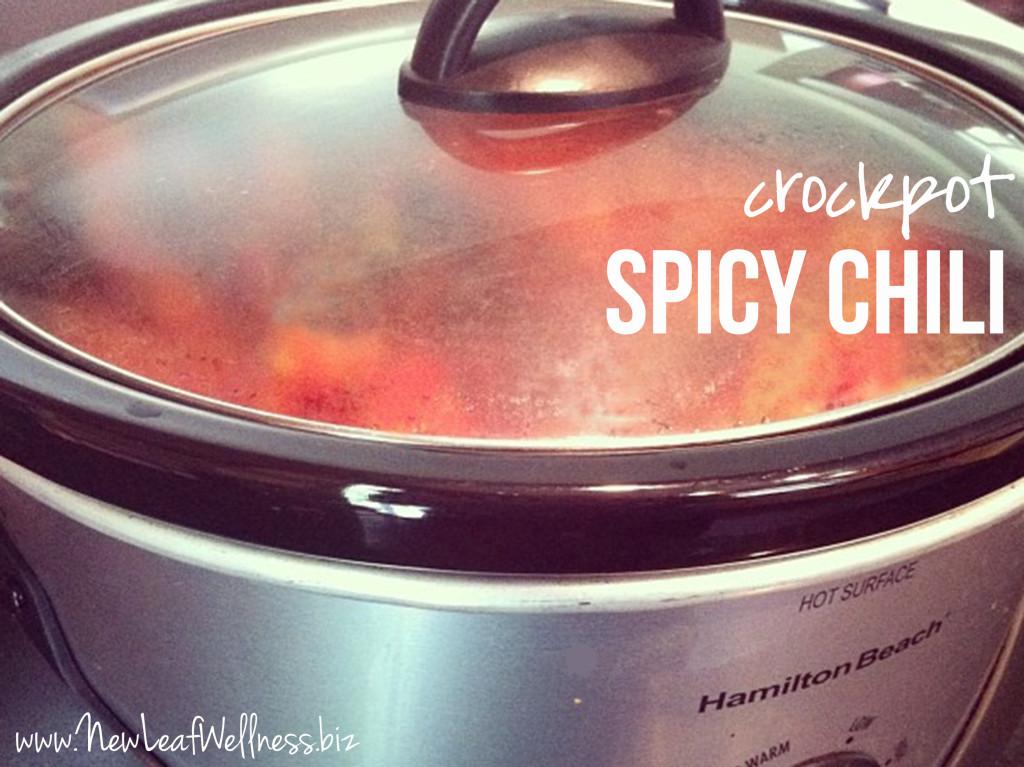 Crockpot Chili Recipes - Spicy Chili