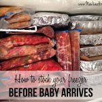 Twenty-seven pre-baby freezer meals