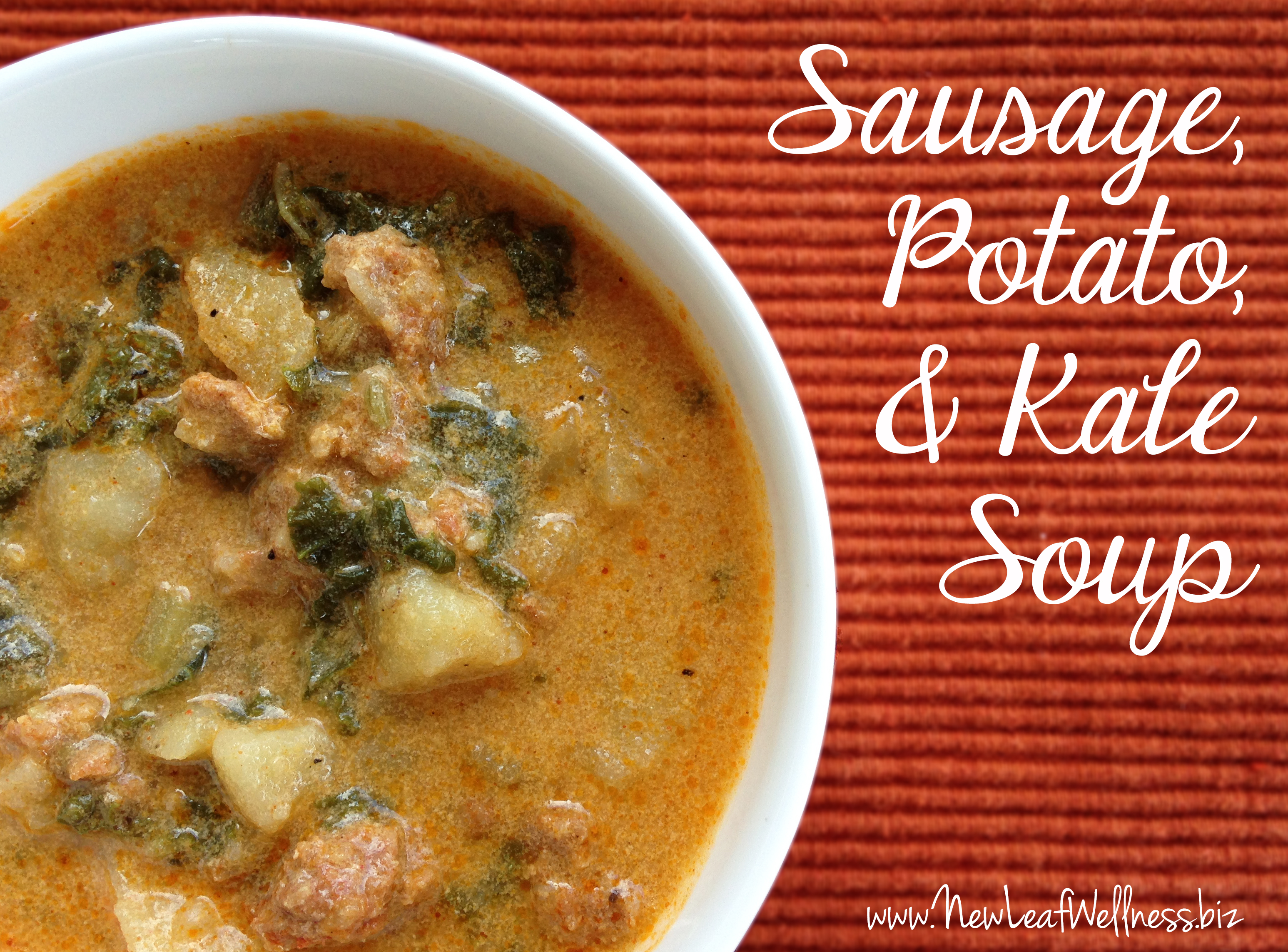 This sausage, potato, and kale soup recipe is the perfect winter soup ...