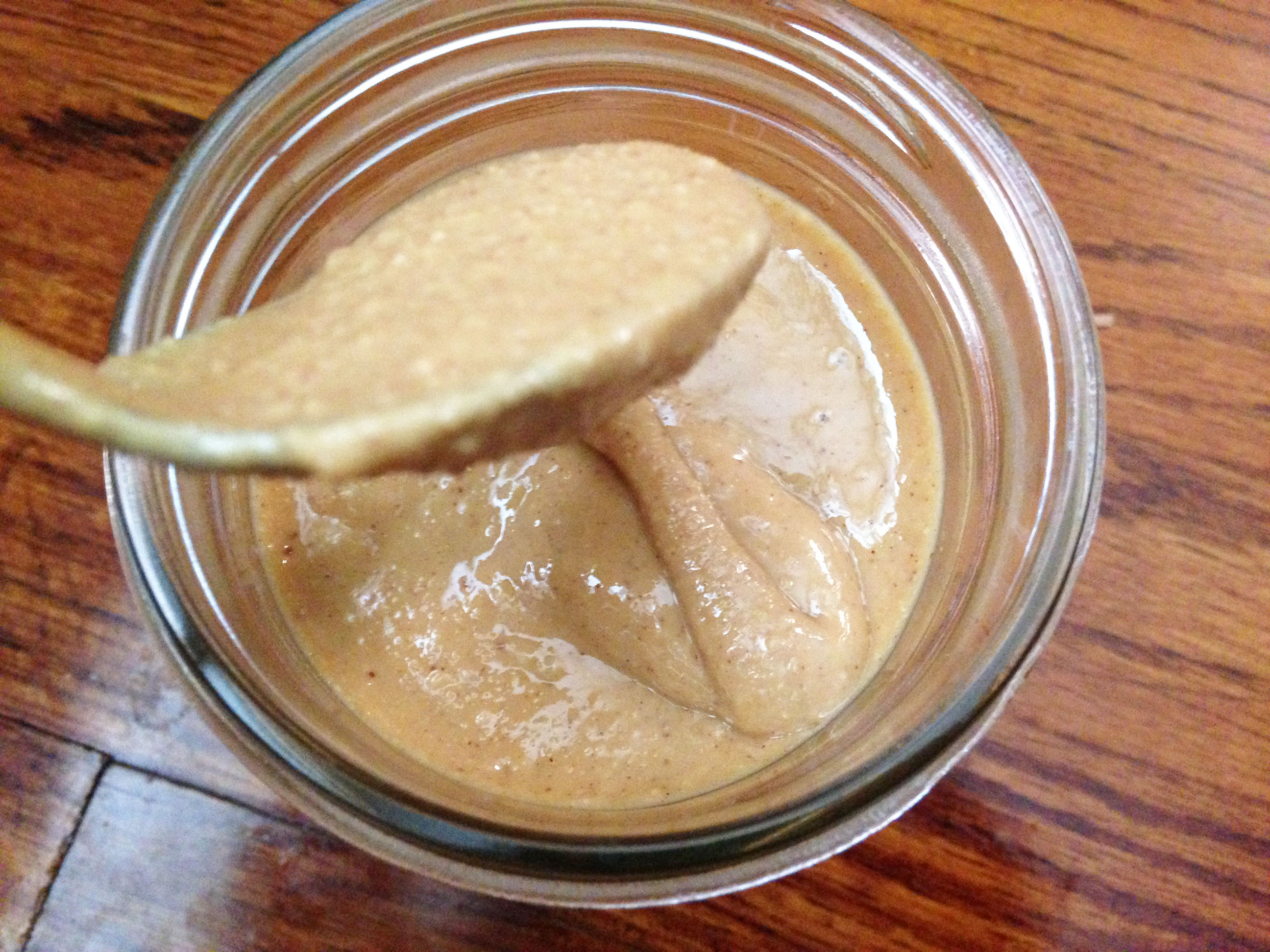 Natural Peanut Butter Recipe from @kellymcnelis