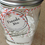 Pancake mix in a jar
