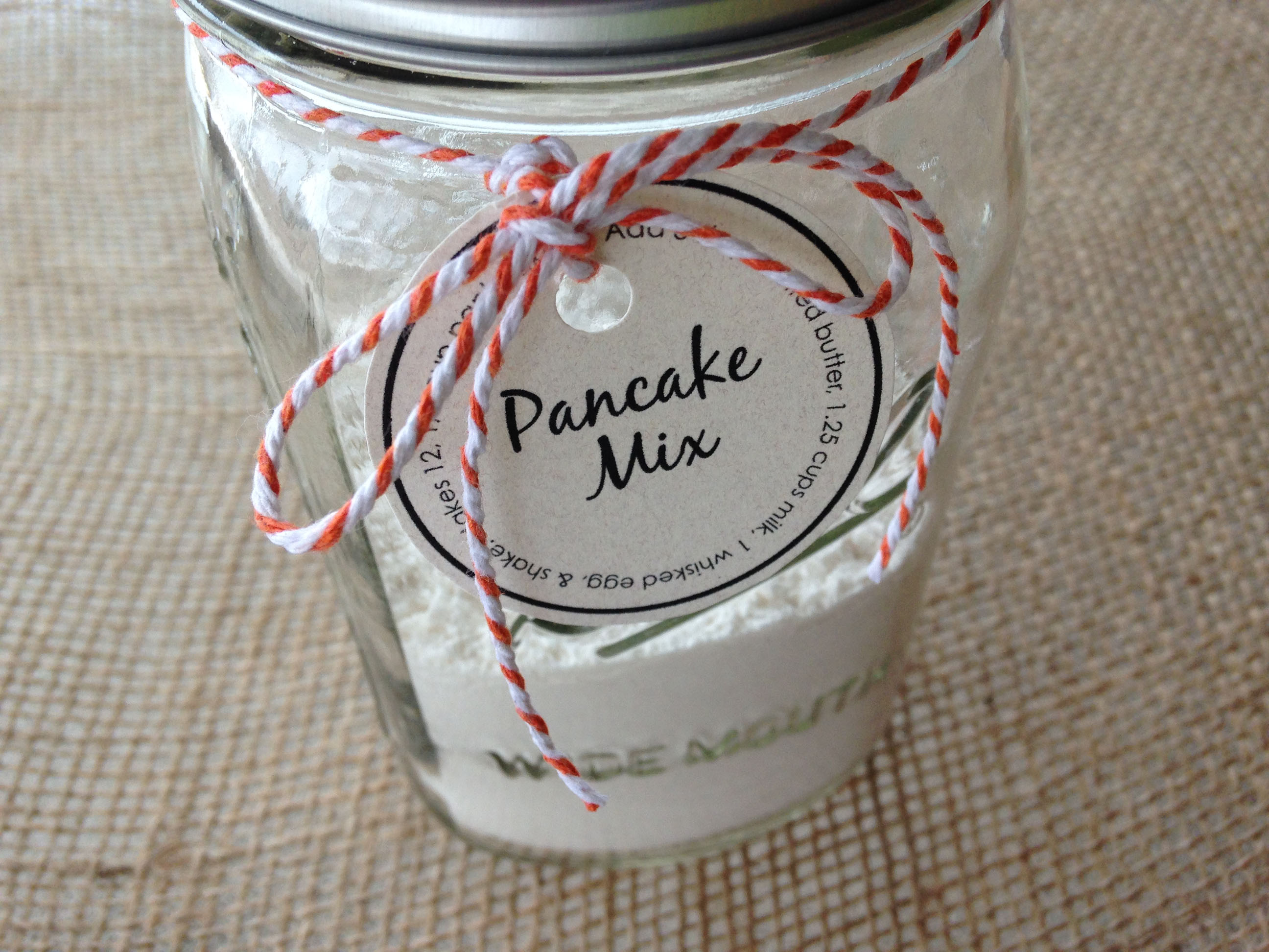 Recipe for Pancake Mix in a Jar