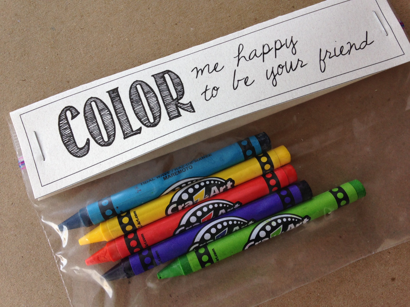Recycled Heart Crayons and Free Printable