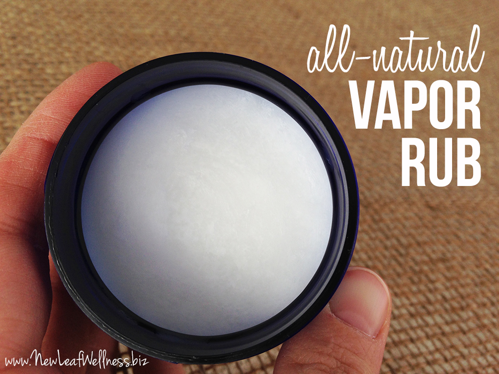 All Natural Vapor Rub